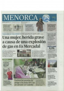 Menorca newspaper